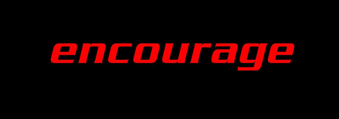 1 encourage banner
